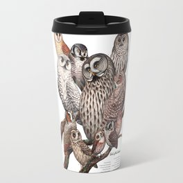 Owls of the Northeast Travel Mug