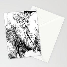 #inktober2016:big Stationery Cards
