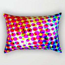Colourful Circle Circus Rectangular Pillow