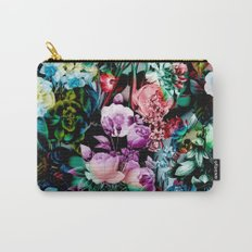 Multicolor Floral Pattern Carry-All Pouch