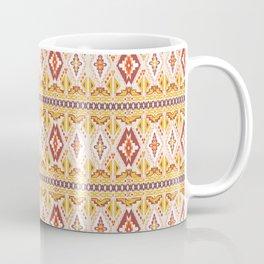 Modern Aborigine Navajo Tribal Pattern Coffee Mug