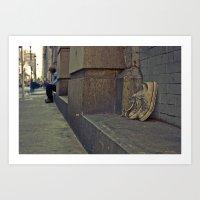 philadelphia Art Prints featuring Philadelphia by Brittany Salerno Photography