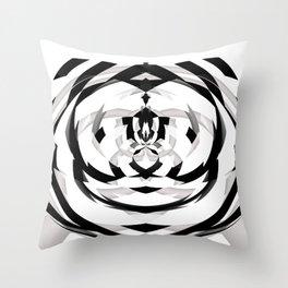Unwind Spiral 2 Throw Pillow