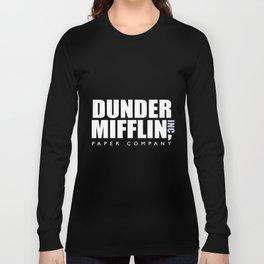 dunder miff-lin paper company boyfriend t-shirts Long Sleeve T-shirt