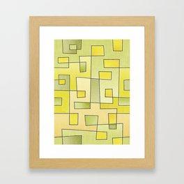 """Proto pattern n 2 """"fresh lemonade"""" Framed Art Print"""