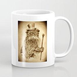 Classy Monkey pencil portrait Coffee Mug