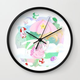 In the New Year Wall Clock