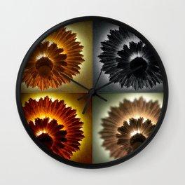 Four Friends Wall Clock