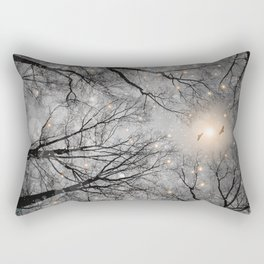 Nature Blazes Before Your Eyes 2 (Ash Embers) Rectangular Pillow