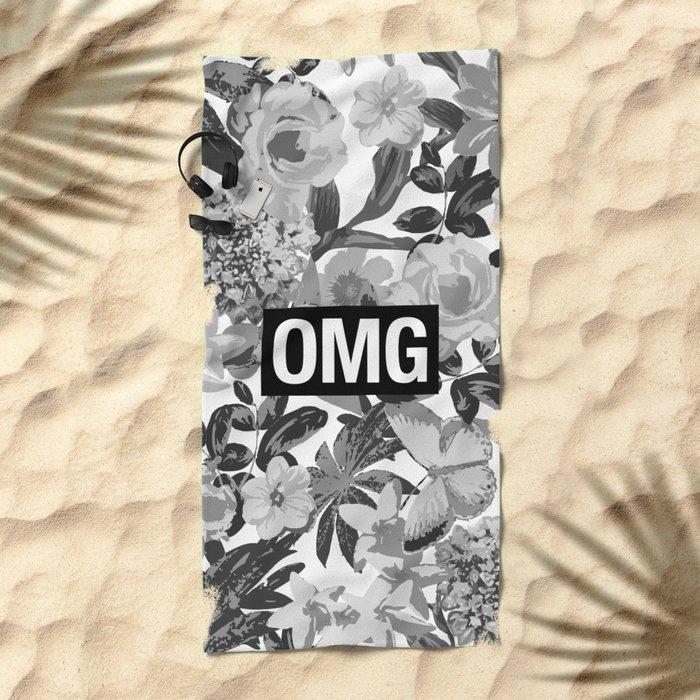 OMG Beach Towel