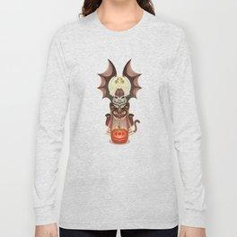 Trick-or-Treat Totem Long Sleeve T-shirt