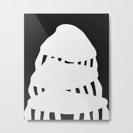 Mushroom Trapezoid Metal Print