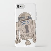 r2d2 iPhone & iPod Cases featuring R2D2 by colleencunha