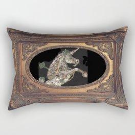 cadre - unicorn - licorne - unicorno - 獨角獸  Rectangular Pillow