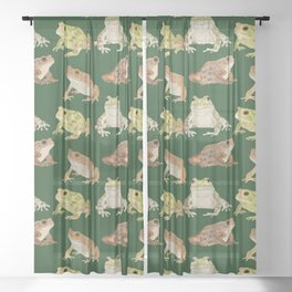 Toads Sheer Curtain