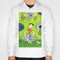 coconut wishes Hoodies featuring Coconut curry by AW illustrations