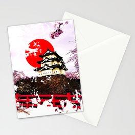 Japan Hirosaki Castle Stationery Cards