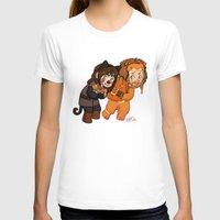 fili T-shirts featuring Halloween Fili and Kili by Hattie Hedgehog