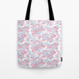 Pink Candy Camouflage Pattern Tote Bag