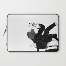 Cough it Up Laptop Sleeve