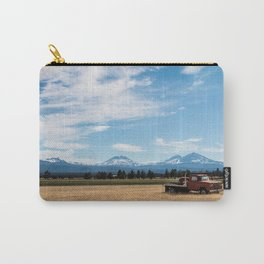 Ranch Truck outside of Sisters, Oregon Carry-All Pouch