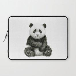 Panda Baby Watercolor Laptop Sleeve