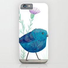 Indigo Bunting iPhone 6s Slim Case