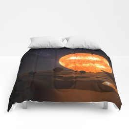Solar System Art Comforters