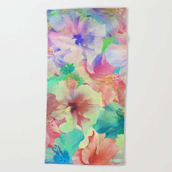Hibiscus Dream #2 Beach Towel