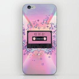 Mix Tape Vol 1 iPhone Skin