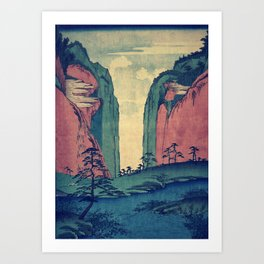 Amazed at Dinyia Art Print