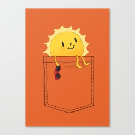 Pocketful of sunshine Canvas Print