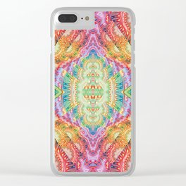 Psychedelic Journey GOA 1 Clear iPhone Case