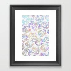 Rose pattern 2 Framed Art Print