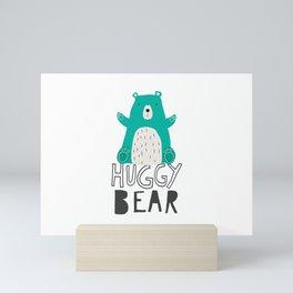 Huggy Bear Mini Art Print