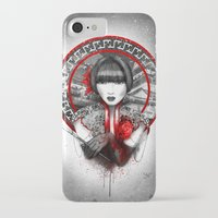 lily iPhone & iPod Cases featuring Lily by Marine Loup