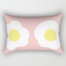 Eggy boobs Rectangular Pillow