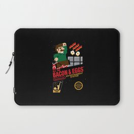 All the Bacon and Eggs Laptop Sleeve