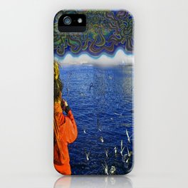 Luka In The Sky iPhone Case