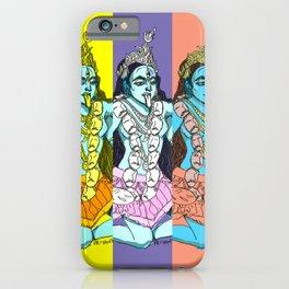 Kali Collage iPhone Case