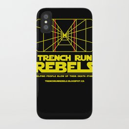 Trench Run Rebels iPhone Case