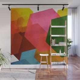 Cubic Wall Mural