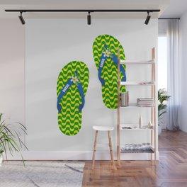 Brazilian flip flops Wall Mural