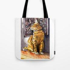 Cat Charlie Tote Bag