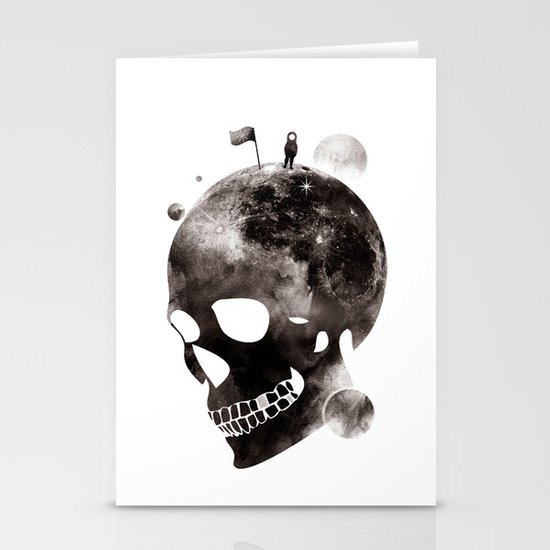 the darkest side Stationery Cards