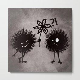 Kind Evil Bugs Metal Print