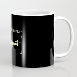 Build Crash Repeat | Drones Pilot Gadget Coffee Mug