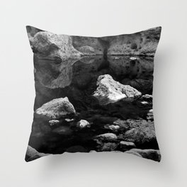 Reflections on Shallow Water Throw Pillow