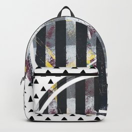 Polarised - small triangle graphic Backpack