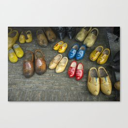 Mostley Clogs  Canvas Print